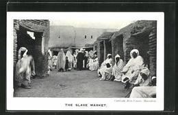 AK Marrakesh, The Slave Market - Völker & Typen