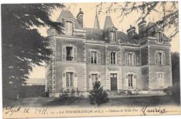 49 LA POMMERAYE - Château De Belle Vue - Other Municipalities