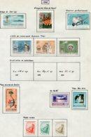 14660 VIET-NAM Du NORD Collection Vendue Par Page N° 276/89 * Sauf 281/3    1962    TB - Viêt-Nam