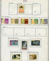 14661 VIET-NAM Du NORD Collection Vendue Par Page N° 291, 294/8, 303/5, 306/7 */ °     1962    TB - Viêt-Nam