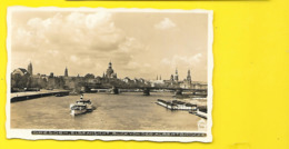 DRESDEN Elbeansicht Blick Von Der Albertbrucke Saxe Allemagne - Dresden