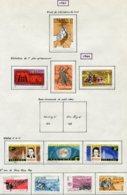 14666 VIET-NAM Du NORD Collection Vendue Par Page N° 354, 355/7, 360/2, 369/72 *   1963-64    TB - Viêt-Nam