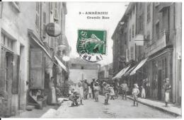 AMBERIEU-EN-BUGEY  01 AIN  3 GRANDE RUE ANIMÉE - Autres Communes