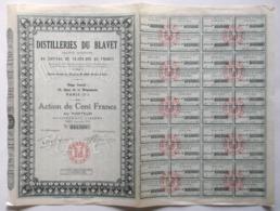 Distilleries Du Blavet. - Actions & Titres