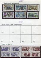 14673 VIET-NAM Du NORD Collection Vendue Par Page N° 558/64, 573/6, 577/80 *   1967-68    TB - Viêt-Nam