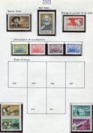 14674 VIET-NAM Du NORD Collection Vendue Par Page  N° 579/85, 595/3, 594/5 *   1968    TB - Viêt-Nam
