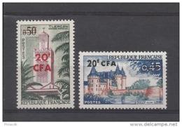 REUNION - N° 351.352  Neuf ** - Réunion (1852-1975)