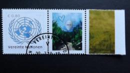 UNO-Wien 1016 Oo/used, Grußmarke: Menschenhandel - Vienna – International Centre