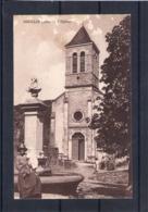 01. Souclin. église. Abimée En Haut - Autres Communes