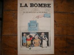- JOURNAL, LA BOMBE Du 4 Août 1889, 2 Pages, - Periódicos