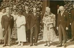 130919F - FAMILLE ROYALE DE BULGARIE - PHOTO 1933 Roi Boris Et La Reine Au Château De Rambouillet - Politique - Identified Persons