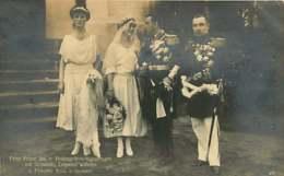 130919F - FAMILLE ROYALE ALLEMAGNE - Mariage François Joseph De Hohenzollern Et Marie Alix Princesse De Saxe - Personnes Identifiées