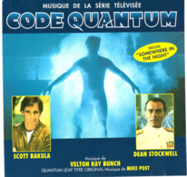 CD N°636 - CODE QUANTUM - COMPILATION - Filmmusik