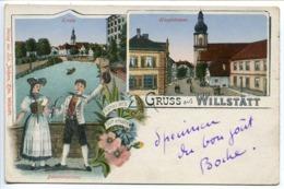 CPA 1919 * Gruss Aux WILLSTÄTT Kinzig - Haupstrasse - Bauerntrachten - Hanau Alt's Gott Erhalts - Alemania