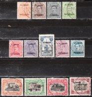 OC38/50  Timbres De 1915 Surchargés ALLEMAGNE-DUITSCHLAND - Bonnes Valeurs - Oblit. - LOOK!!!! - [OC38/54] Occ. Belg En All.