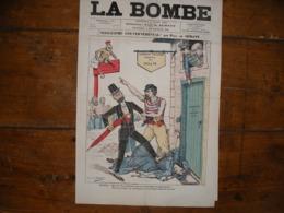 - JOURNAL, LA BOMBE Du 2 Mars 1890, 2 Pages, - 1850 - 1899