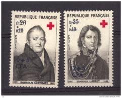 REUNION - N° 362.363   Neuf ** - Réunion (1852-1975)