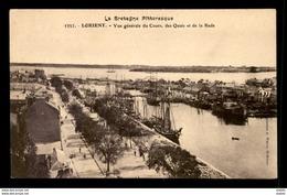 56 - LORIENT - LE COURS, LES QUAIS ET LA RADE - Lorient