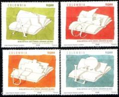 A423-KOLUMBIEN / COLOMBIA.- MNH - 2008 - LUIS ANGEL ARANGO LIBRARY , 50 YEARS - Colombie