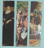 LOT DE 3 MARQUE PAGES Galerie Ary Jan - Tableaux Anciens - Marque-Pages