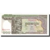 Billet, Cambodge, 100 Riels, Undated (1957-75), KM:8b, SPL - Cambodge