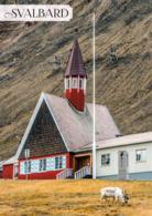 1 AK Svalbard Norwegen * Die Kirche Am Rande Von Longyearbyen Auf Spitzbergen - Sie Ist Die Nördlichste Kirche Der Welt - Norwegen