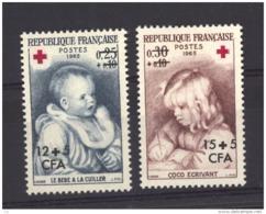 REUNION - N° 366.367  Neuf ** - Unused Stamps