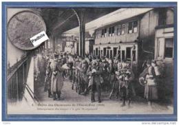 Carte Postale 75. Paris Grèves Des Cheminots  Débarquement Des Troupes Gare Montparnasse - Sonstige