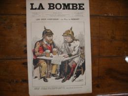 - JOURNAL, LA BOMBE Du 28 Avril 1889, 2 Pages, - 1850 - 1899