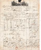 1827 - LYON - Fabrique De PARAPLUIES En Tus Genres - Jean DUCRUY - - Documents Historiques