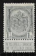 Luik 1910  Nr. 1457B - Precancels