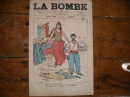 - JOURNAL, LA BOMBE Du 23 Février 1890, 2 Pages, - Periódicos