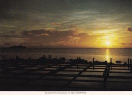 L32D_488 - Maurice - Sunset View From Salt Pans At Ft. Albert, Mauritius - Maurice