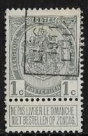 Luik 1911  Nr. 1628A - Voorafgestempeld
