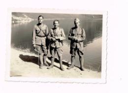 Trois Militaires Français. - Guerre, Militaire