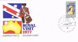 33904. Carta F.D.C. SYDNEY (Australia) 1977. Royal Visit Elisabeth II - Sobre Primer Día (FDC)