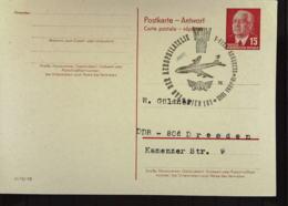 DDR: Doppel-Gs-Postkarte (Aw-teil) Mit 15 Pf W. Pieck Mit SOSt. Wien 10.6.65 Nach Dresden Knr: P 65 AA - [6] República Democrática