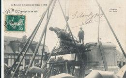 AN 913 /  C P A -  VERDUN    (55)  LE MONUMENT DE LA DEFENSE DE VERDUN EN 1870 MONTAGE SUR SON SOCLE - Verdun