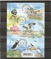 FRANCE    Feuillet De 4 Timbres 0,57 €    2012    Y&T :F4656  Centenaire De La Ligue De Protection Des Oiseaux  Oblitéré - Sheetlets