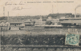 AN 951 /  C P A -  ESSONNES    (91)    VUE GENERALE DES PAPETERIES - Essonnes