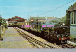 REF 421 : CPSM Romney Kent Hythe And Dymchurch Railway Train Locomotive - Non Classés