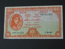 10 Ten Shilling 1965 - IRLANDE - The Central Bank Of Ireland  **** EN  ACHAT IMMEDIAT  **** - Ierland