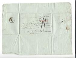 LETTRE  1792  Marque Linéaire 18  TULLE  . Antoine Lafon Négt St-Léon Sur Vézère à Lafon Ladébat  Pt Assemblée Nationale - Marcofilia (sobres)
