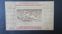 Carnet Croix Rouge 1952 Neuf ** TB Voir Scans - Carnets