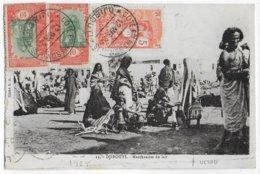 COTE DES SOMALIS - 1925 - CARTE (MARCHANDES DE LAIT) De DJIBOUTI => LILLE - Côte Française Des Somalis (1894-1967)