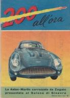 """RIVISTA """"200 ALL'ORA"""" SUPPLEMENTO ALL'I INTREPIDO N°18 Del 2-5-1961- SPILLATO-FOTOGRAFIE IN BIANCO  NERO E COLORATE - Zonder Classificatie"""