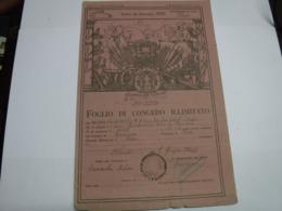 CONGEDO  MILITARE  --- 31° REGGIMENTO  CARRISTI - 1939-45