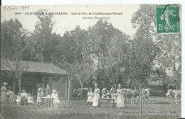 DIVONNE LES BAINS - Coin Du Parc De L'établissement Thermal - Divonne Les Bains