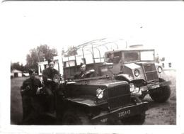 Photo Militaire Jeep - Format 9x6cm - Postcards