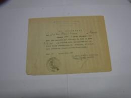 CONGEDO  MILITARE  --- 4 ° REGGIMENTO  CARRISTI-- FERREA  MOLA E FERREO CUORE - 1939-45